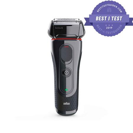 Den beste barbermaskinen akkurat nå – Braun Series 5 5030s