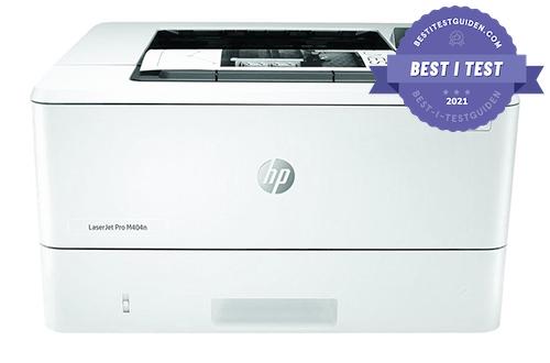 Beste laserskriveren - HP LaserJet Pro M404dn