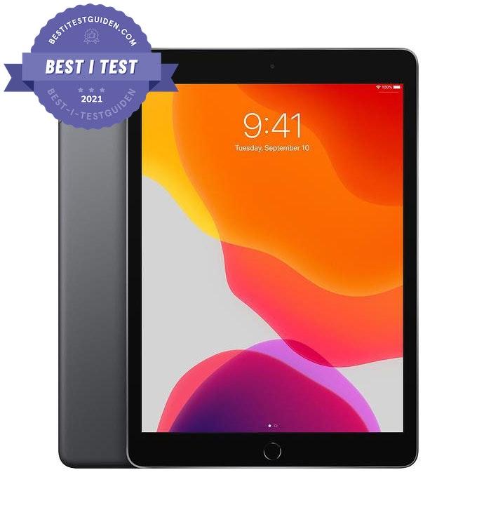 """Best i test nettbrett med 10.2″ skjerm – Apple iPad 10.2"""" 32GB"""