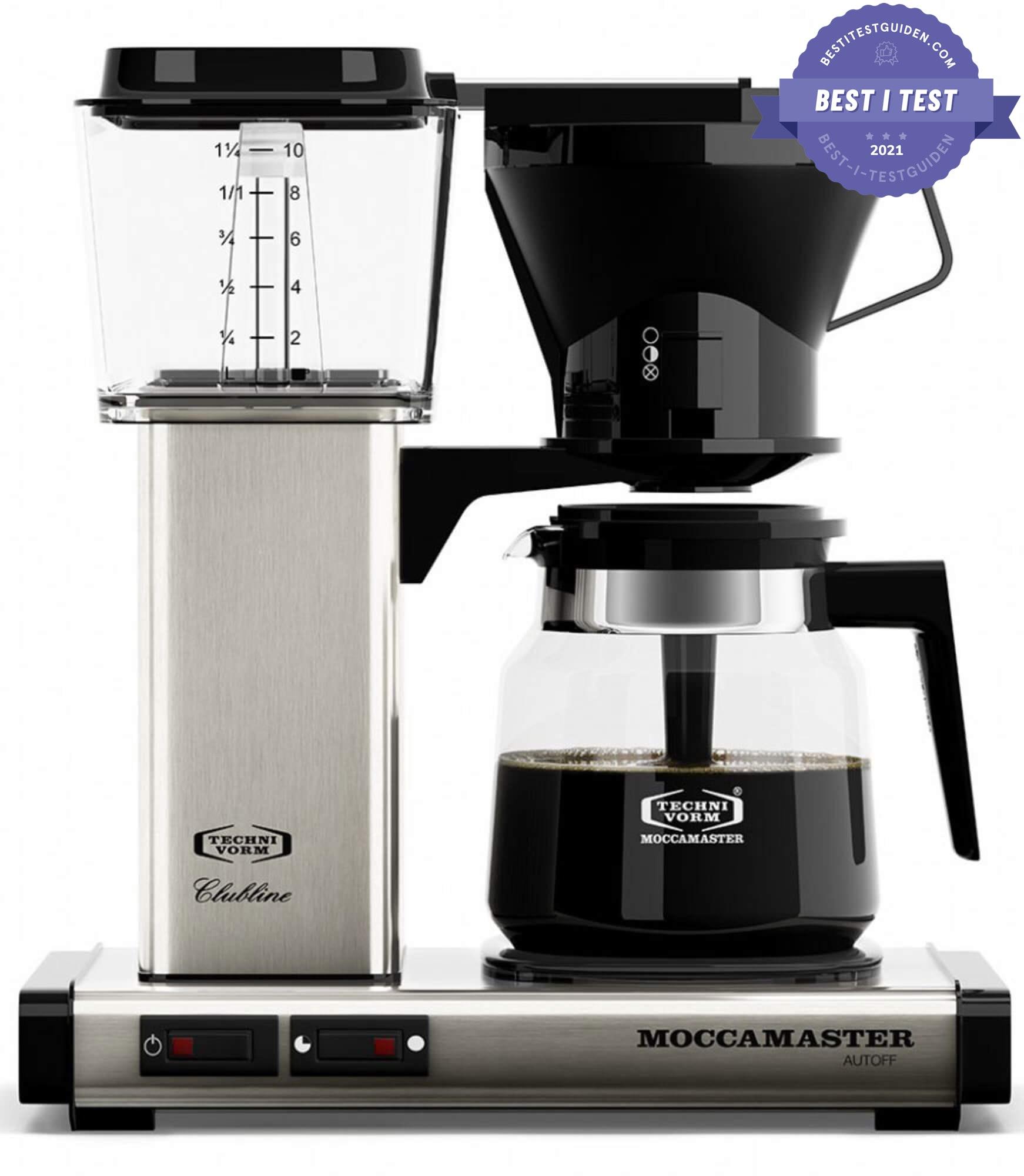 Best i test av kaffetraktere 2020 – Moccamaster KB952AO
