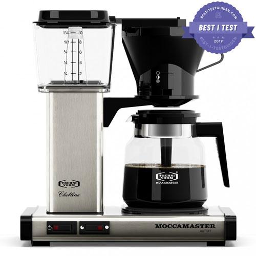 Best i test av kaffetraktere – Moccamaster KB952AO