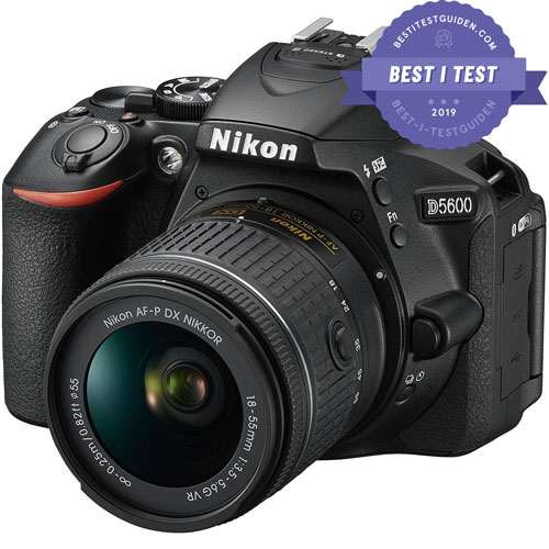 Beste digitale Speilreflekskameraet: Nikon D5600