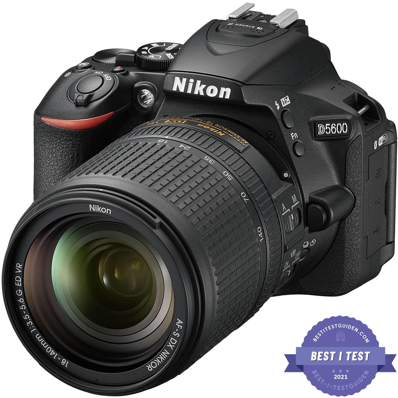Beste digitale Speilreflekskameraet 2020: Nikon D5600