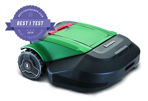Best i test vinner på gressplenen – Robomow RS615