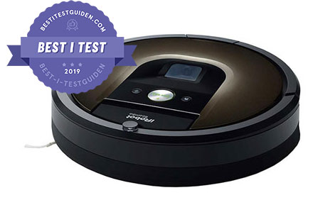 Best i test – iRobot Roomba 980