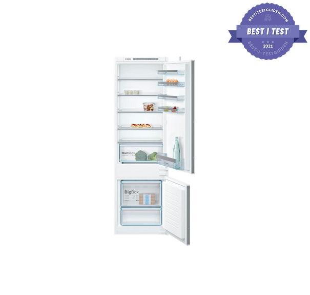 Beste integrerte kjøleskap/kombiskap.