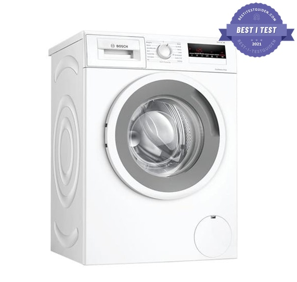Test vaskemaskin, Best i test Guiden vaskemaskin, Bosch WAN282I3SN