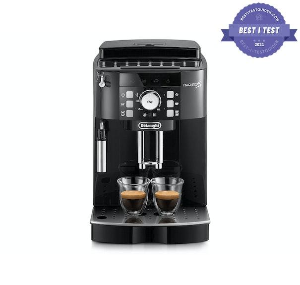 Best i test espressomaskinen 2021 - Delonghi Magnifica S ECAM 21.117 - Best i test