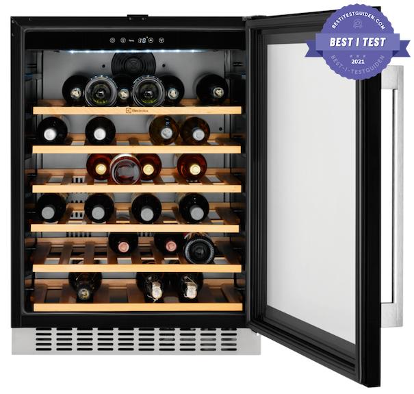beste integrerte vinkjøleskapet