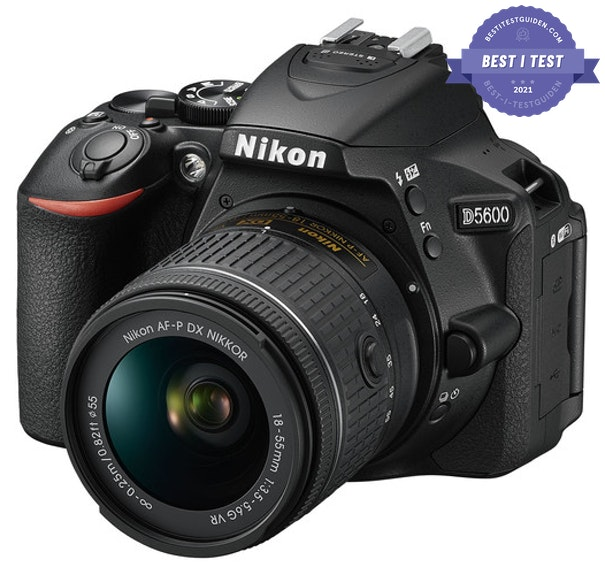 Best i test speilreflekskameraet 2021 - Nikon D5600 - Best i test