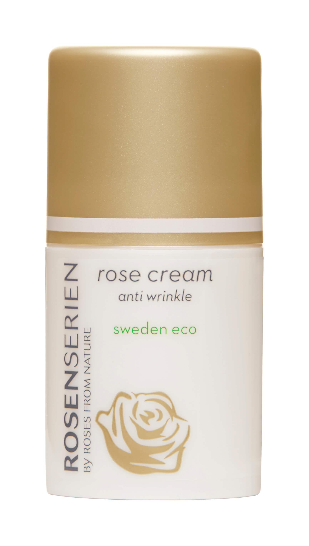 Beste anti age krem - rose cream